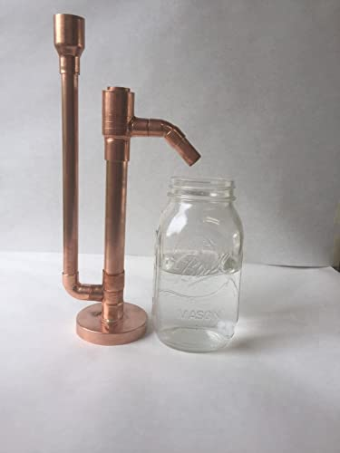 "2021 Proofing Parrot Pure 2021 Copper for lowest Moonshine e85 Distilling Alcohol DIY Kit 3/4""x11 sale"