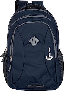 Half Moon 34 Ltrs Lightweight Casual Waterproof Laptop Bag for Men Women Boys Girls/Office School College Teens & Students...