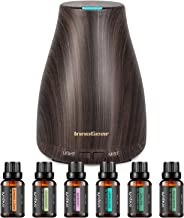 InnoGear Essential Oil Diffuser with Oils, 150ml Aromatherapy Diffuser with 6 Essential Oils Set, Aroma Cool Mist Humidifi...