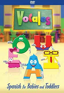 Spanish for Kids - DVD Video For Kids Children Babies Toddlers - Start learning the Spanish language for children 5 years old and under