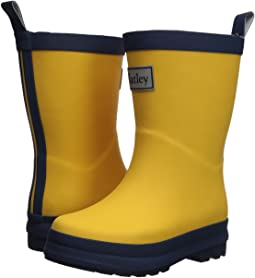 Hatley Kids Yellow and Navy Rain Boots (Toddler/Little Kid)