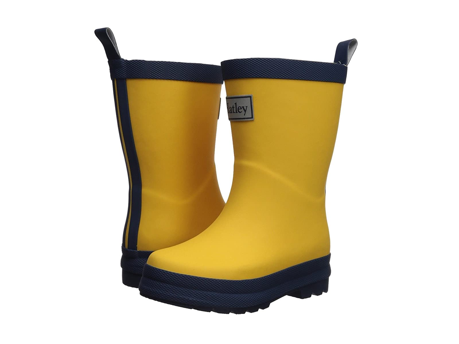 Man's/Woman's:Hatley Kids Kid's Color Kid): Block Rain Boots (Toddler/Little Kid): Color highlight 46ea69