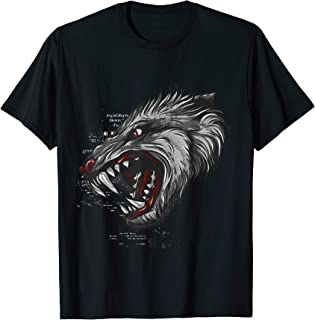 Roaring Tiger Gothic Costume Cool Easy Animal Halloween Gift T-Shirt