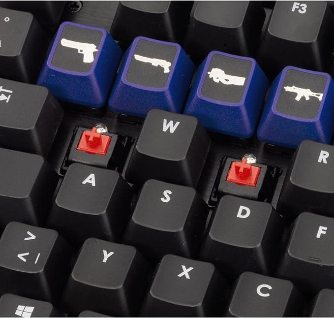 Armas uRage Refuerzo Caps el Conjunto de Botones Azules ...