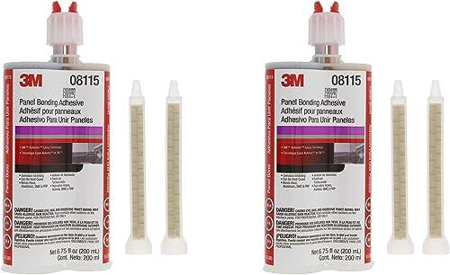 3M 08115 Panel Bonding Adhesive - 200 ml - 2 Pack
