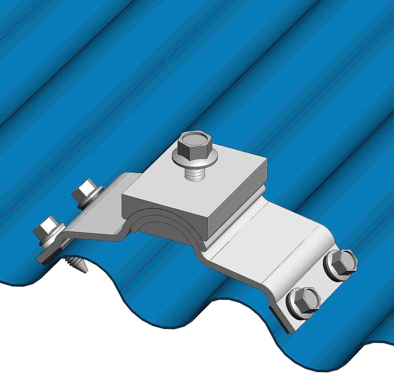 New Shipping Free MageBracket CH Corrugated Metal Roof Racking Rib Sale Mounting Bracke