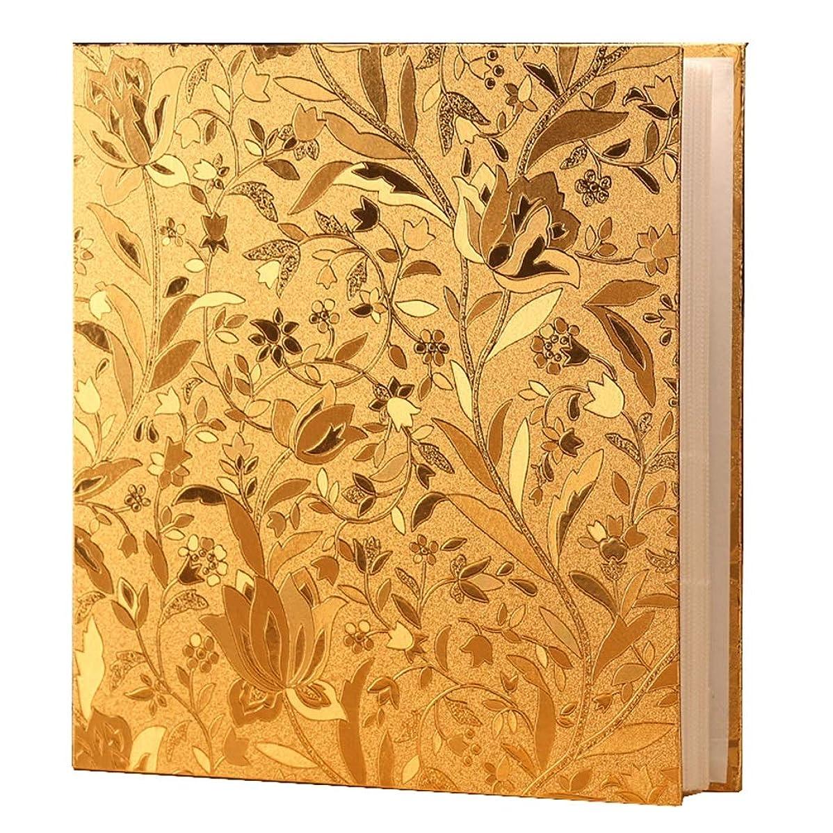 受動的薬理学エレベーター記念本- フォトアルバム、7インチの写真で700の5インチと6インチのホールド、ゴールド