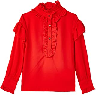 Iconic Blouse For Girls - Red