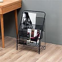 Office Living Room Landing Krant Frame standaard opslag Shelf Display Stand Opvouwbaar Metal Iron Magazine Rack Simple Boo...