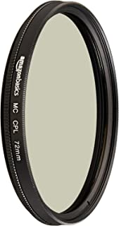 Amazon Basics - Filtro polarizador circular - 72mm