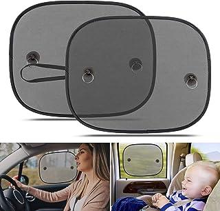 Car Window Shades for Baby, Universal Car Sun Shades for Side and Rear Window, Car Visor Side Window Sun Shade Cover Block...