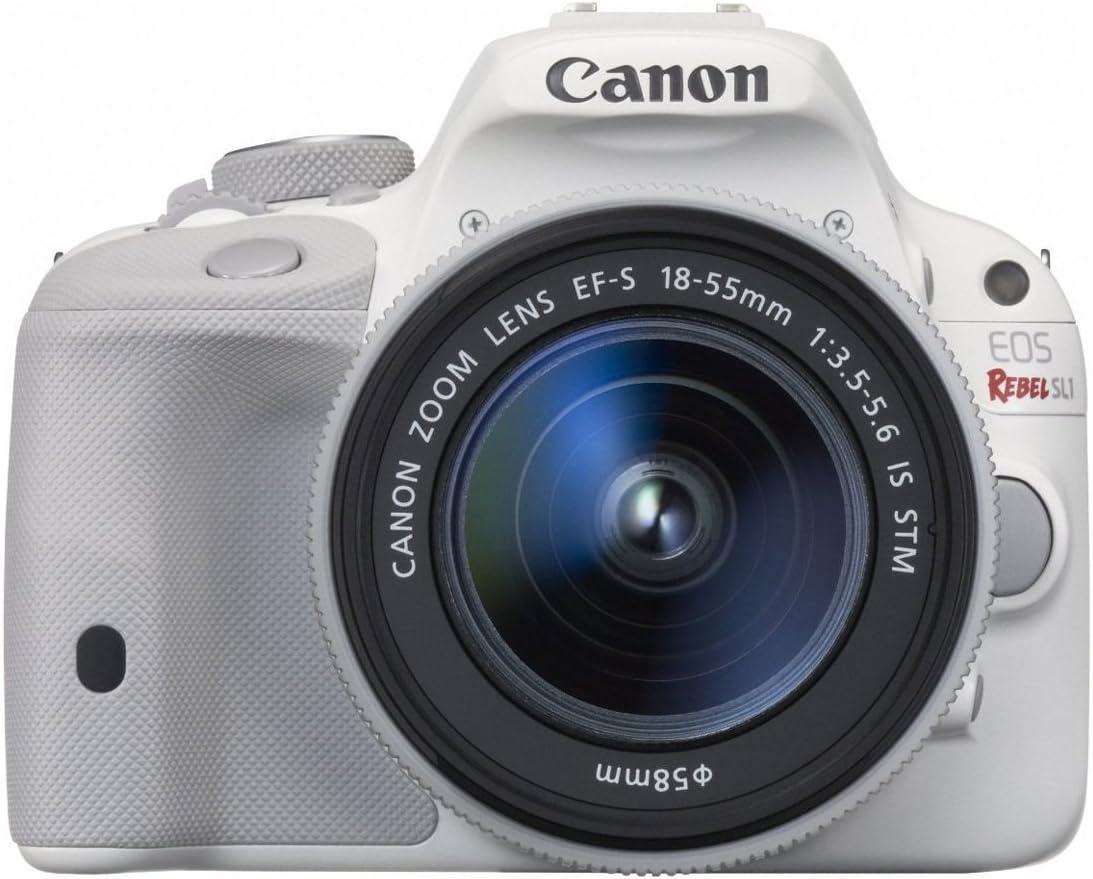 Canon EOS Rebel SL1 Digital Trust SLR STM 18-55mm Great interest Lens White with
