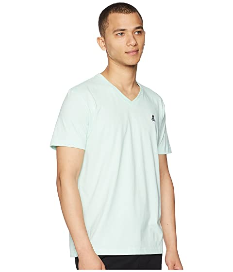 Psycho Bunny Classic V-Neck T-Shirt Honeydew 100% Guaranteed Cheap Price dETvGv