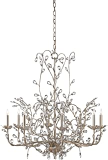 Currey & Company Lighting Crystal Bud Chandelier in Large