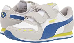 PUMA White/Galaxy Blue/Gray Violet/Nrgy
