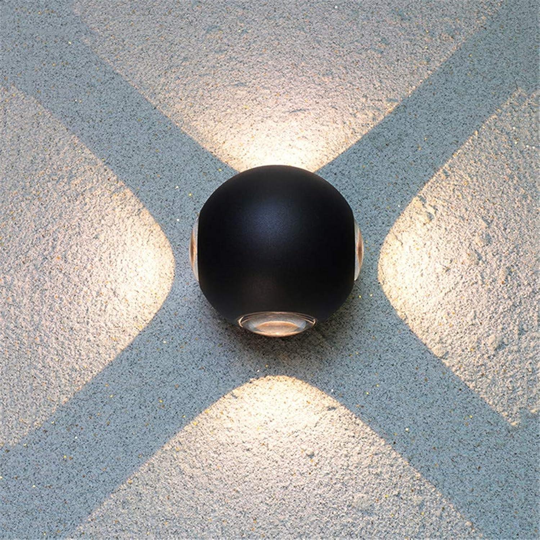 Moderne LED Wandleuchte Leuchte Indoor Flur Up Down Wandleuchte Spot Licht Aluminium Dekorative Beleuchtung für Theater Studio Restaurant Hotel,WarmWeiß,3pcs