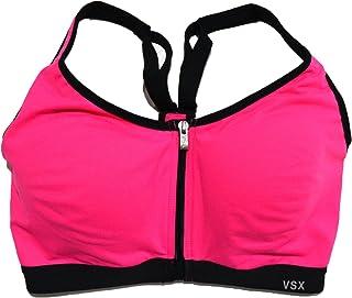 d2987b64d9 Victoria s Secret VSX Knockout Front Close Underwire Sports Bra in Hot Pink