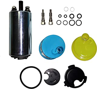 Marine EFI Fuel Pump for Yamaha 200-250 Mariner 150-250 Mercruiser 4.3L 5.7L 7.4L 8.2L Mercury 150-250 Sport-Jet 240 Outboard Motor Engine 809088T1 808505T01 827682T 66K-13907 67H-13907 65L-13907