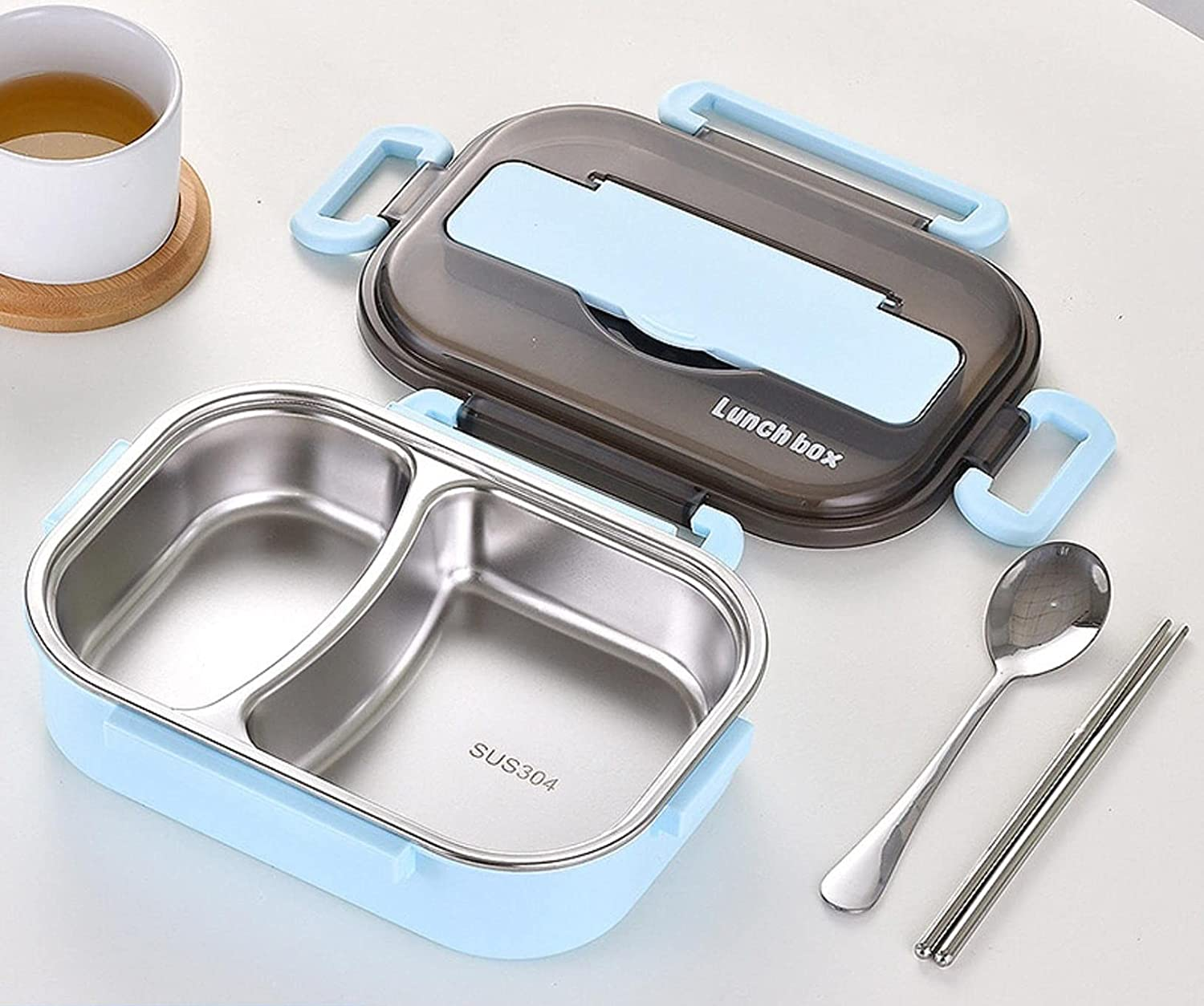 OLOPE Lunch Box,Bento Boxes for Student, Thermal Insulation Bent
