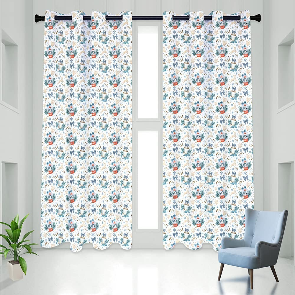 Colorful Star Long Blackout Curtain Bedroom Therma for Bargain sale Set Max 68% OFF Panel