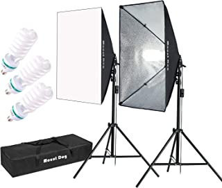 MOUNTDOG 1350W Softbox Lighting Kit Photography Studio Light 20