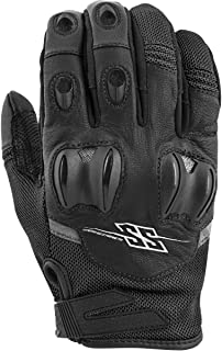 Speed and Strength The Power And The Glory Men's Street Motorcycle Gloves - Black/Medium