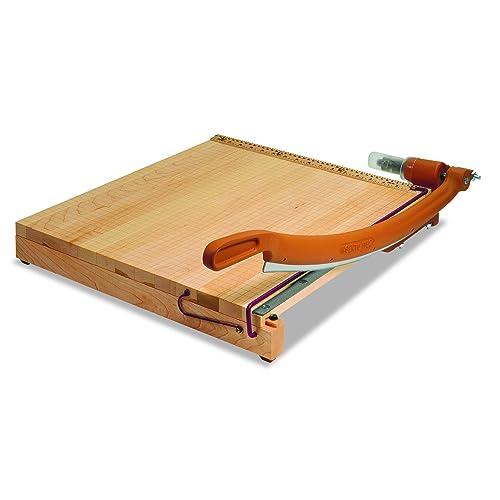 "Swingline Paper Trimmer, Guillotine Paper Cutter, 18"" Cut Length, 15 Sheet Capacity, ClassicCut Ingento (1152)"