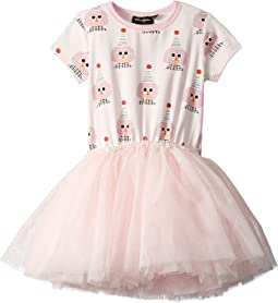 Party Girl Short Sleeve Circus Dress (Toddler/Little Kids/Big Kids)