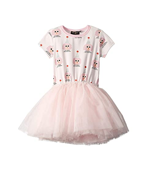 Rock Your Baby Party Girl Short Sleeve Circus Dress (Toddler/Little Kids/Big Kids)