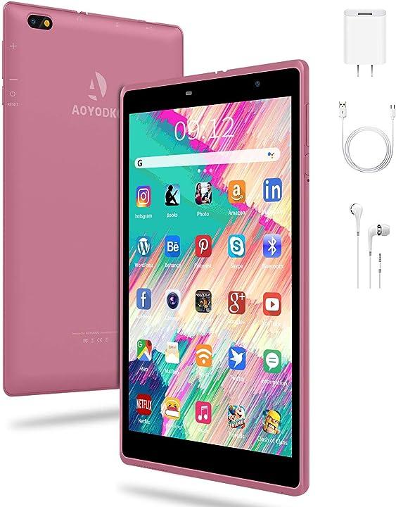 Tablet per bambini da 8 pollici android 10.0 3gb ram+32/128gb rom fotocamera 5mp wifi aoyodkg B08N4P6KCF