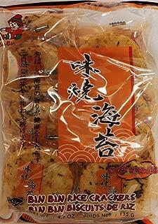 Bin Bin Spicy Seaweed Rice Cracker 4.75 oz x4pk