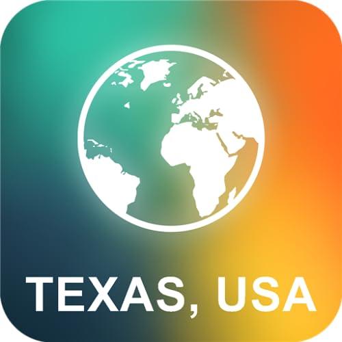 Texas, USA Offline Karte