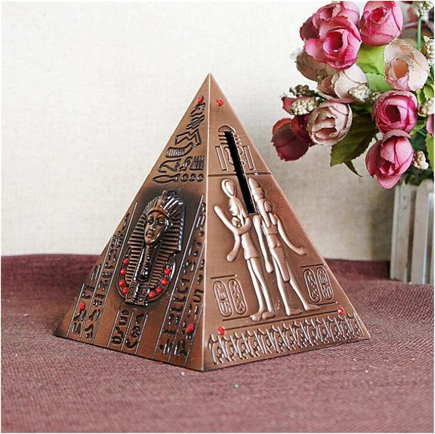 YINGZI Coin Bank lowest price Pyramid Piggy Collectio lowest price Commemorative