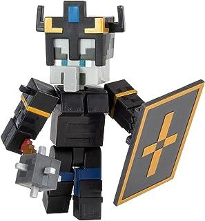 Minecraft Dungeons figurine articulée Garde Royal 8 cm avec accessoires inclus, jouet d'action et d'aventure pour enfant i...