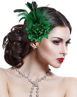 Best flower feather hair clip Reviews