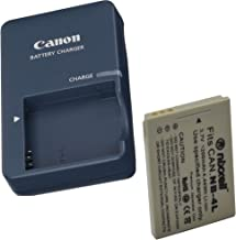 Canon CB-2LV Charger for Canon NB-4L Li-ion Battery Compatible with Canon PowerShot SD40 SD30 SD200 SD300 SD400 SD430 SD450 SD600 SD630 + Bonus Battery!
