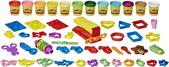 Play-Doh Ultra Fun Factory Bundle Multipack 47-Piece Set for Kids 3 Years and Up with 12 Modeling Compound Colors, 3 Ounce...