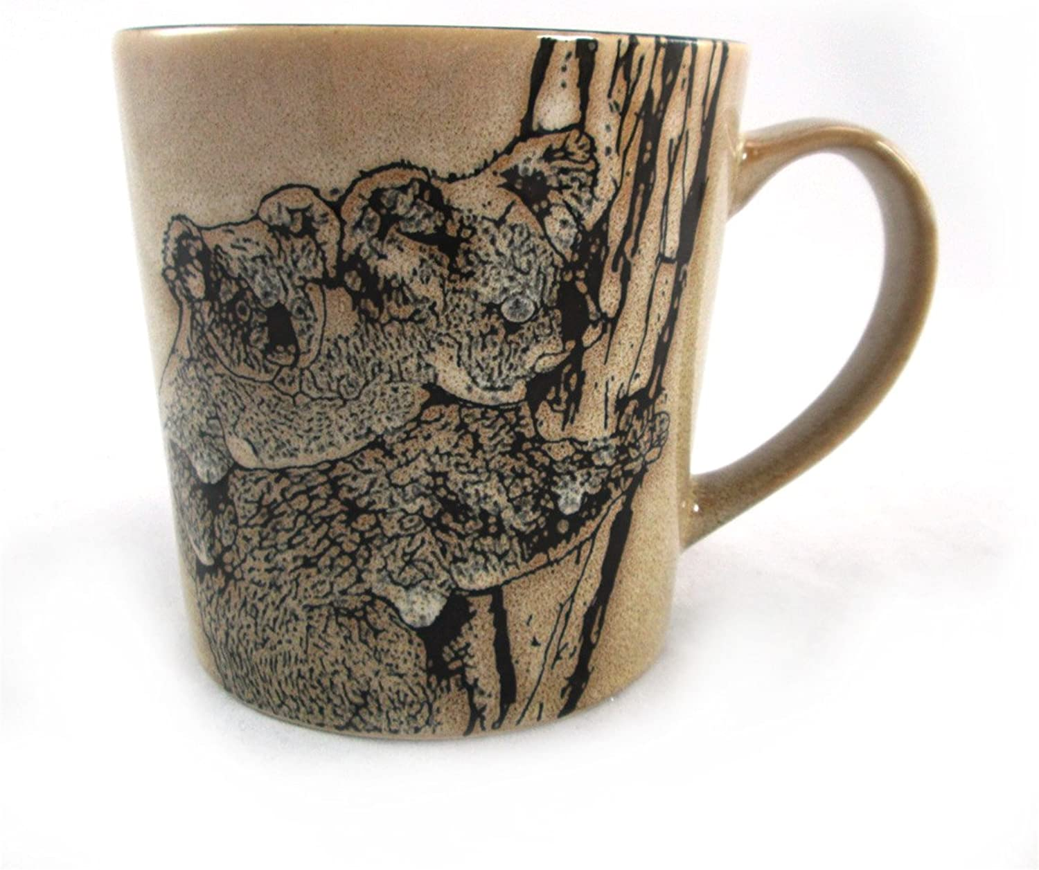 Large Wildlife Safari Collection 16 oz. Ceramic Koala Mug