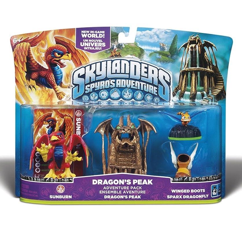 お手伝いさん原油試してみるスカイランダーズ スパイロの大冒険 ドラゴンピーク  Skylanders Spyro's Adventure Pack Dragon's Peak 「海外直送品?並行輸入品」