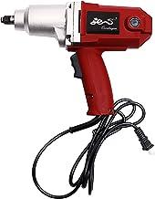 Chave de impacto elétrica com fio 7,5 A 1/2 polegada – Máx. 230 pés – Chave de impacto resistente com soquetes e estojo de...
