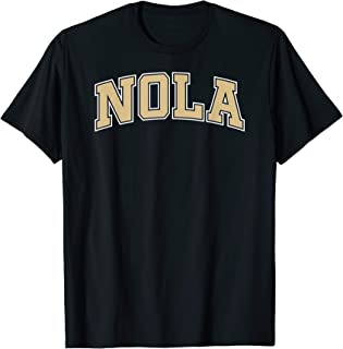 NOLA New Orleans Football Vintage Louisiana Saint Retro T-Shirt