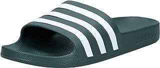 adidas Adilette Aqua, Unisex Adults Slides, Green Size: 43 EU