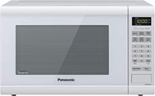 Panasonic Countertop with Inverter Technology and Genius Sensor Microwave Oven, 1.2 cft, White