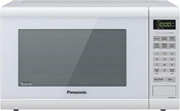 Panasonic Microwave Oven NN-SN651WAZ White Countertop with Inverter Technology and Genius Sensor, 1.2 Cu. Ft, 1200W
