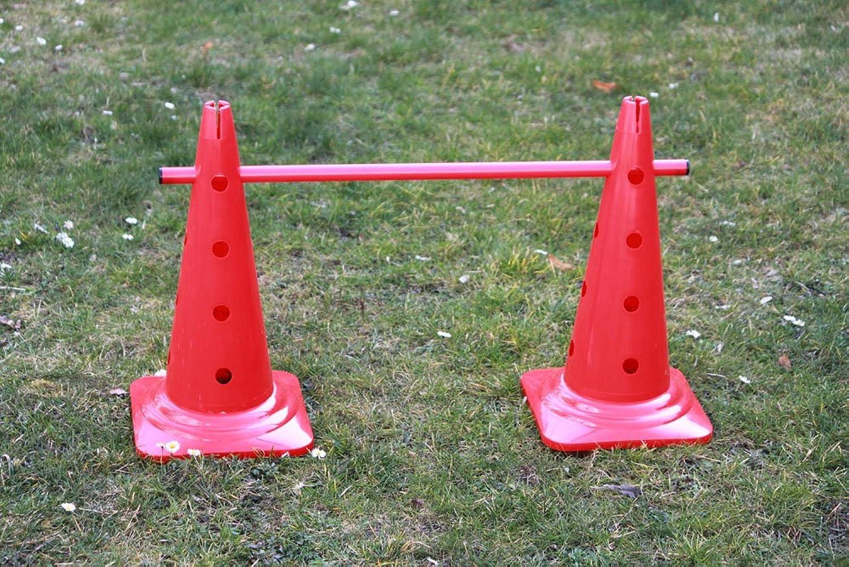 Boje Sport 5er Set Trainingshürden, 10x MZK  50 cm, cm, cm, 5X Stange  80 cm - Farbe  rot B00M6XSVUA  Kaufen e8804d
