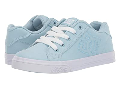 DC Kids Chelsea TX (Little Kid/Big Kid) (Powder Blue) Girls Shoes