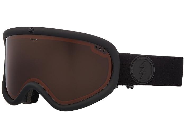 Charger XL  Shoes (Matte Black Frame/Brose Lens) Goggles
