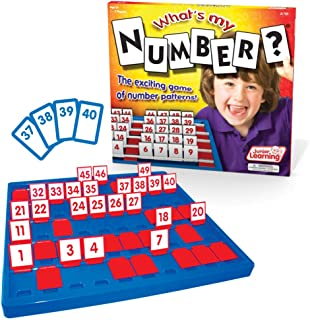 Junior Learning What's My Number Board Game