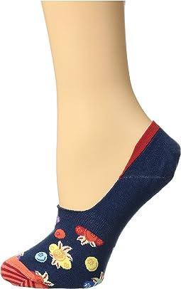 Berry Liner Socks