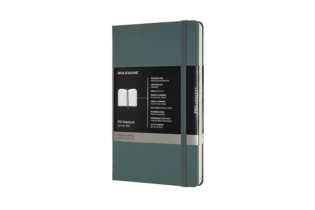 モレスキン ノート PRO ノートブック ハードカバー ラージ フォレストグリーン PROPFNTB3HK19